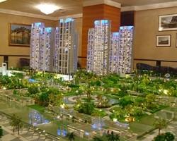 不同建筑沙盘模型中的绿化景观差异有哪些呢?