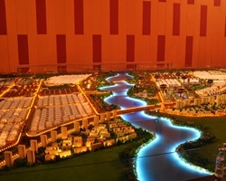 建筑模型中的水面制作步骤